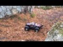 Bashing with Hpi Savage XS flux and Traxxas E-revo 1/16 vxl