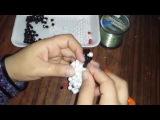 طريقة عمل خروف من الخرز 2 _ مريم عثمان | 3D Beaded sheep