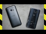HTC 10 vs. Galaxy S7 Drop Test!
