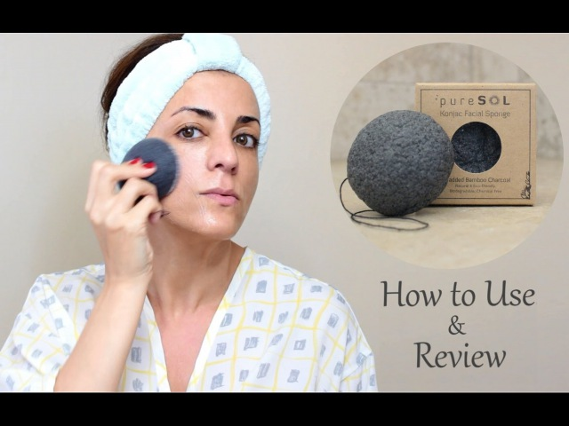 How to Use Review: ✿ pureSOL Konjac Facial Sponge ✿
