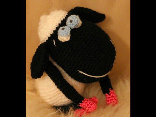 Вяжем вместе - 4 часть Барашек Шон (овечка) Shaun the Sheep