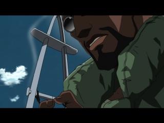 [SHIZA] Пираты «Черной лагуны» (1 сезон) / Black Lagoon TV - 5 серия [Azazel] [2006] [Русская озвучка]
