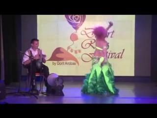Leyla & Roland in DESERT ROSE FESTIVAL 2016 GALA SHOW