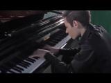 самый быстрый пианист, 720p - Bence Peter - Bad (Piano Cover) Michael Jackson