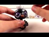 ЛПС ООАК  Лителс пет шоп Принцесса Черный Лебедь на русском игрушки для девочек - 360P