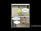 Gravity Falls комикс _ От куда взялся Билл Шифр _D
