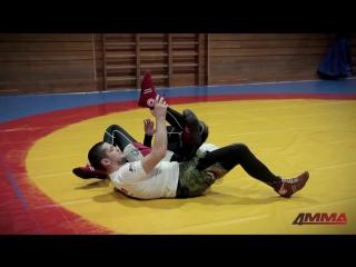 Школа боевого самбо с Игорем Исайкиным - канарейка и другие болевые приемы на ноги.