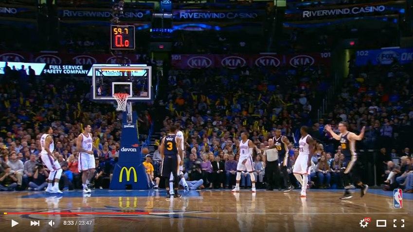 Самый быстрый брокок в НБА 2015