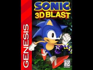 Sonic 3D Blast Прохождение (Sega Rus)