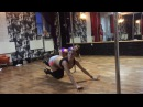 Exotic pole dance by Oksana Shine!!