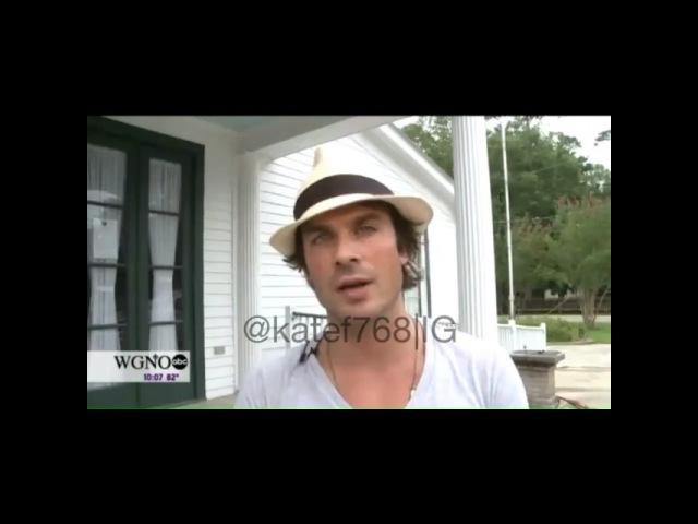 Kate on Instagram Ian Somerhalder lends his star power to St Tammany meeting on fracking Abita Springs WGNO He is a concerned citizen of St Tammany…""