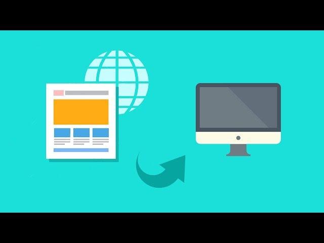 Как скачать сайт целиком с картинками из CSS и шрифтами