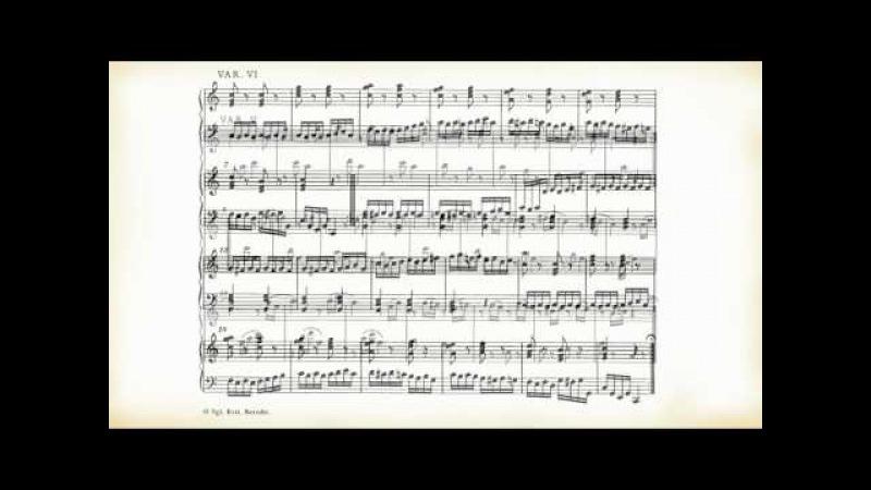 Mozart: Dodici variazioni per pianoforte su Ah, vous dirais-je, Maman