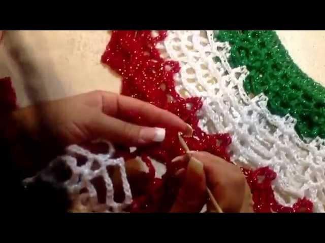 TEJE CHALECO TRICOLOR - Crochet Fácil y Rápido