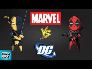 Marvel против DC: ЧЬИ АНТИГЕРОИ СИЛЬНЕЕ?!