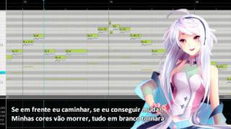 MAIKA 「Maçã Ruim (Bad Apple)」 Vocaloid Cover