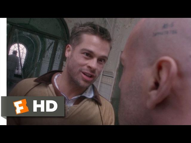 12 Monkeys (4/10) Movie CLIP - Institutionalized With Jeffrey (1995) HD