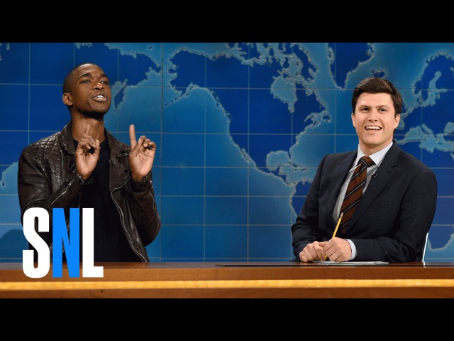 Weekend Update Jay Pharoah on Katt Williams and Kevin Hart's Feud SNL