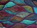 Вязаный пэчворк. Мастер-класс. Knitted patchwork. Tutorial.