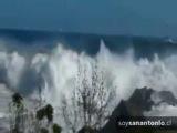 Tsunami au Chili formé aujourdhui 1 er avril 2014,séisme de 8,2 ...