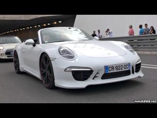 TechArt Porsche 991 Carrera S with Racing Exhaust LOUD Sound!