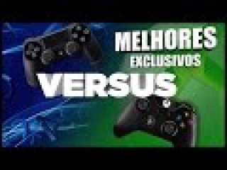Xbox One VS. Playstation 4 - Comparação dos Exclusivos por Categoria