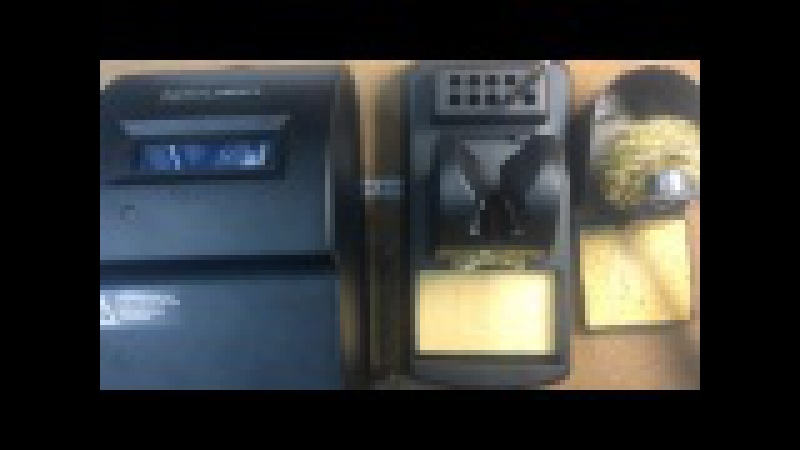 Распаковка индукционной паяльной станции THERMALTRONICS TMT-9000S