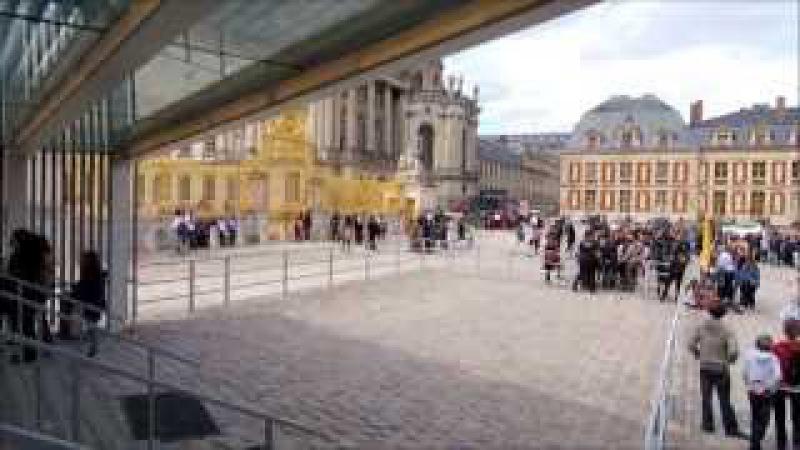 Версаль: посещение дворца