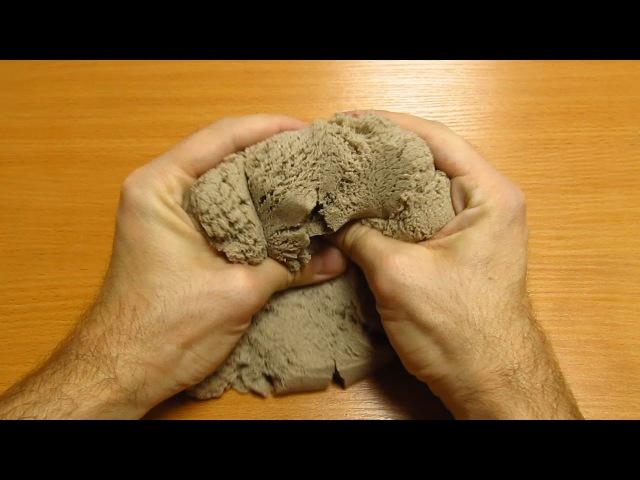 Кинетический песок обзор Kinetic sand Alex Boyko