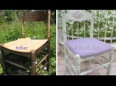 Chalk paint distress Shabby chic chair tutorial Furniture refinishing DIY
