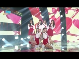 151226 GFRIEND - 'Me Gustas Tu' + 'Glass Bead' @ Music Core Year-End Special