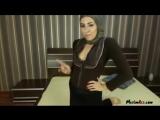 Sexy muslim girl dance on webcam