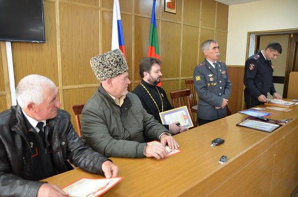 В станице Зеленчукской чествовали ветеранов МВД