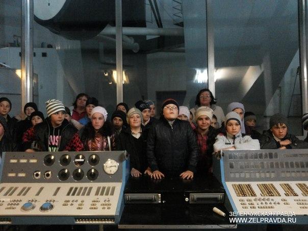 Школьники из станицы Исправной побывали в САО РАН
