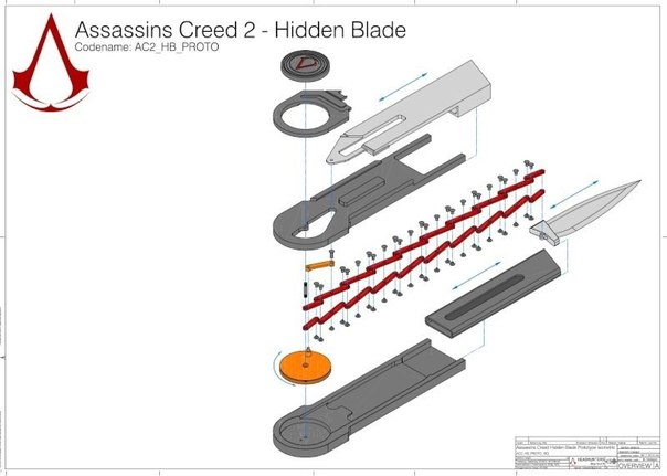 Как сделать скрытый клинок ассасина из канцелярского ножа