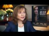 Chaos Cannes: Isabelle Huppert Interview - ELLE de Paul Verhoeven | Изабель Юппер