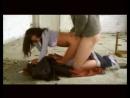 Затащил девушку на стройку и изнасиловал в рот и жопу ( раком, русское, заглот, в рот, жесткий секс )