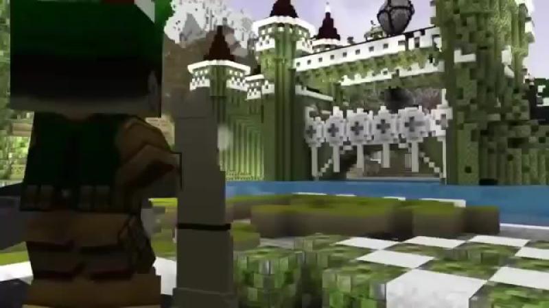 Minecraft Новички- Все серии подряд на РУССКОМ - RUS - ДУБЛЯЖ