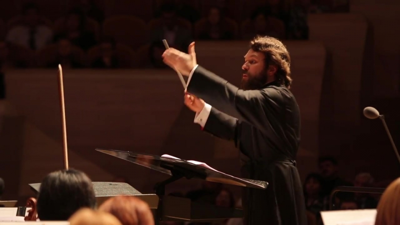 Bach. Passacaglia and Fugue. Conductor Metropolitan Hilarion Alfeyev