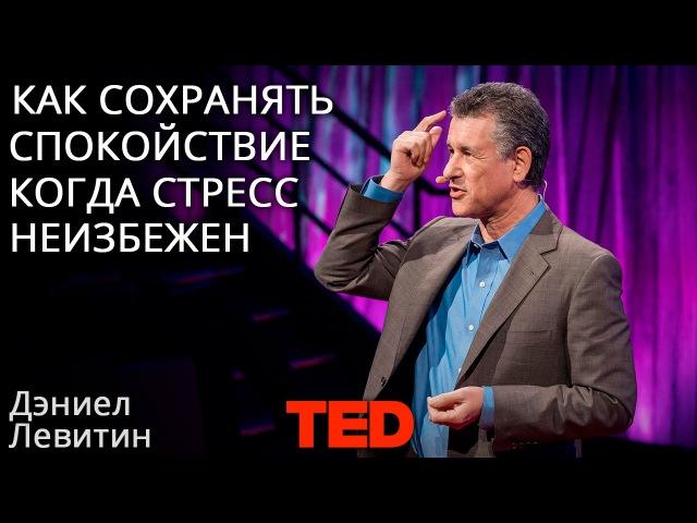Дэниел Левитин: Как сохранять спокойствие, когда известно, что стресс неизбежен