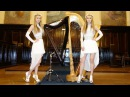 BILLY IDOL - White Wedding (Harp Twins) Camille and Kennerly HARP ROCK