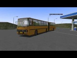OMSI2 Ikarus 280.02. Анимация сочленения и прицепа.