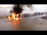Провокация ФСБ В Питере.  Расстрелян ОМОН. Дальнобойщик держись
