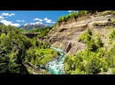 Красивое видео для медитации и релакса море, горные реки, деревья
