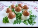 Закуски из яиц Грибочки боровички Холодные закуски на Новый Год Холодні закуски