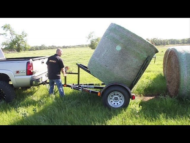 Maxey Trailers 83 Hay Dolly