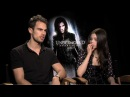 India Eisley Theo James talk Underworld Awakening -