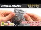 ЛЕГО ОРУЖИЕ Обзор брикармс Пак Второй мировой войны Brickarms WWII weapons pack [музей GameBrick]