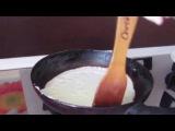 Как приготовить блины на молоке? Рецепт на Масленицу от Настеньки.