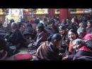 Nomads Praying at Dzogchen Monastery in Kham, Eastern Tibet